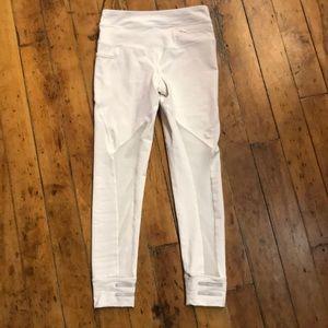 3c3963808db5dd Lole Pants   White Mesh Cutout Leggings Size Xs   Poshmark